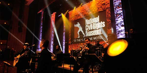 GoodShow stagecraft national civil rights museum freedom awards memphis tennessee